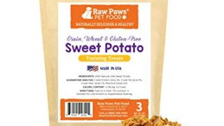 Raw Paws Pet Grain-Free Sweet Potato Training Treats for Dogs